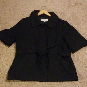 Merona black tweed like jacket